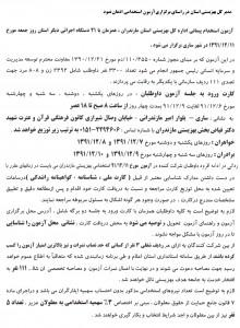 آزمون استخدامی بهزیستی استان مازندران